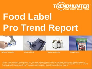 Food Label Trend Report and Food Label Market Research