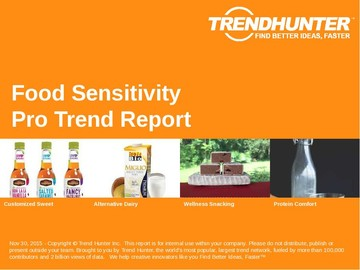 Food Sensitivity Trend Report and Food Sensitivity Market Research