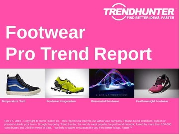 Footwear Trend Report and Footwear Market Research