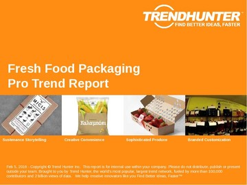 Fresh Food Packaging Trend Report and Fresh Food Packaging Market Research
