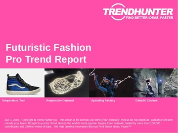 Futuristic Fashion Trend Report and Futuristic Fashion Market Research