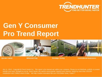Gen Y Consumer Trend Report and Gen Y Consumer Market Research
