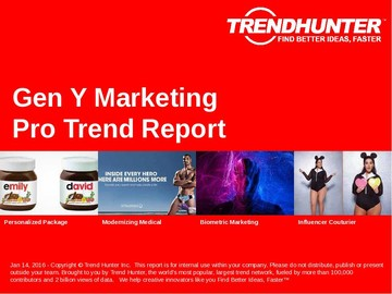 Gen Y Marketing Trend Report and Gen Y Marketing Market Research