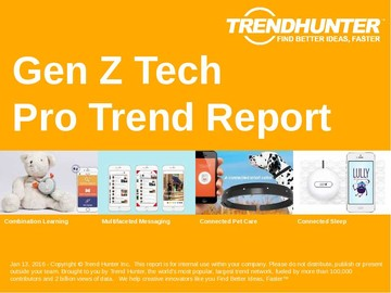 Gen Z Tech Trend Report and Gen Z Tech Market Research