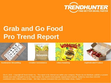 Grab and Go Food Trend Report and Grab and Go Food Market Research