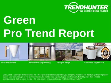 Green Trend Report and Green Market Research