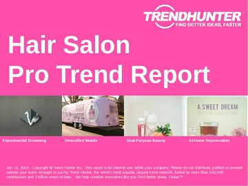 Hair Salon Trend Report and Hair Salon Market Research