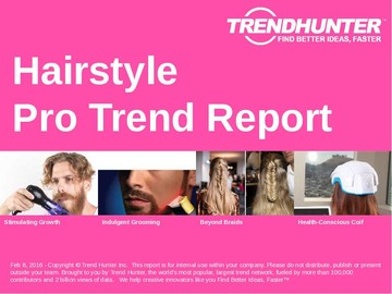 Hairstyle Trend Report and Hairstyle Market Research