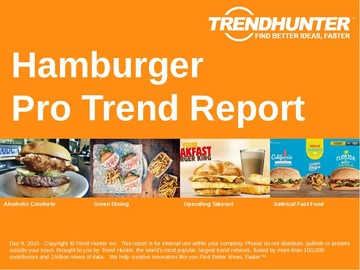 Hamburger Trend Report and Hamburger Market Research