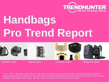 Handbags Trend Report and Handbags Market Research