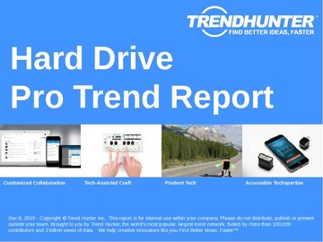 Hard Drive Trend Report and Hard Drive Market Research