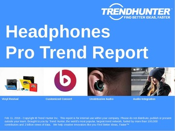 Headphones Trend Report and Headphones Market Research
