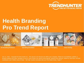 Health Branding Trend Report and Health Branding Market Research