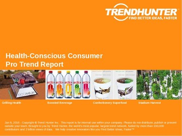 Health-Conscious Consumer Trend Report and Health-Conscious Consumer Market Research