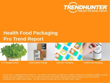 Health Food Packaging Trend Report and Health Food Packaging Market Research