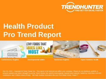 Health Product Trend Report and Health Product Market Research