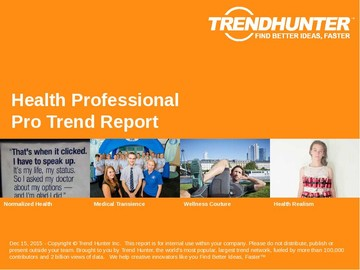 Health Professional Trend Report and Health Professional Market Research