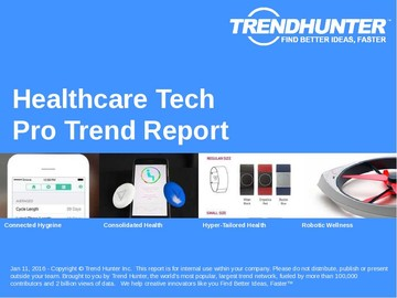 Healthcare Tech Trend Report and Healthcare Tech Market Research