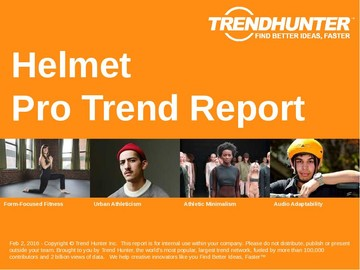Helmet Trend Report and Helmet Market Research
