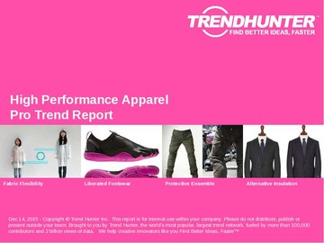 High Performance Apparel Trend Report and High Performance Apparel Market Research
