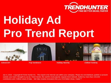 Holiday Ad Trend Report and Holiday Ad Market Research