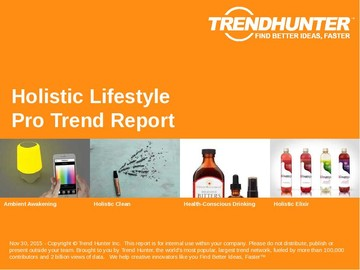 Holistic Lifestyle Trend Report and Holistic Lifestyle Market Research