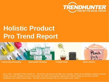 Holistic Product Trend Report and Holistic Product Market Research