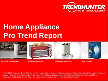Home Appliance Trend Report and Home Appliance Market Research