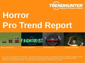 Horror Trend Report and Horror Market Research