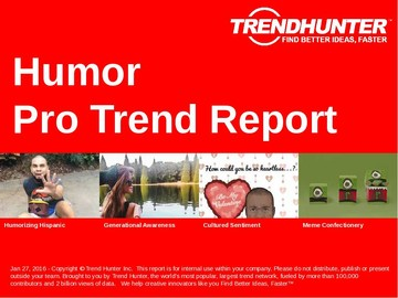 Humor Trend Report and Humor Market Research