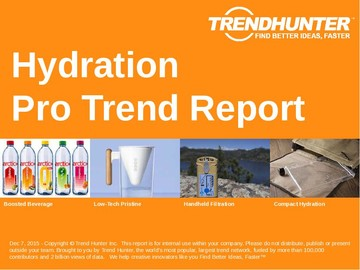 Hydration Trend Report and Hydration Market Research