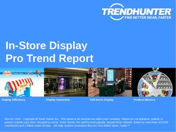 In-Store Display Trend Report and In-Store Display Market Research