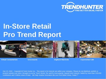 In-Store Retail Trend Report and In-Store Retail Market Research