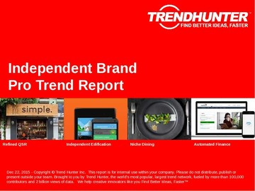 Independent Brand Trend Report and Independent Brand Market Research