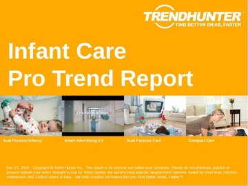 Infant Care Trend Report and Infant Care Market Research