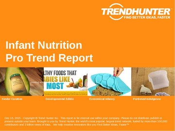Infant Nutrition Trend Report and Infant Nutrition Market Research
