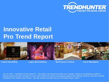 Innovative Retail Trend Report and Innovative Retail Market Research
