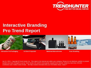 Interactive Branding Trend Report and Interactive Branding Market Research