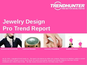 Jewelry Design Trend Report and Jewelry Design Market Research