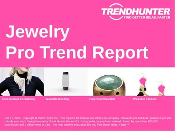 Jewelry Trend Report and Jewelry Market Research
