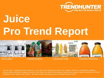 Juice Trend Report and Juice Market Research