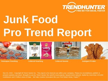 Junk Food Trend Report and Junk Food Market Research