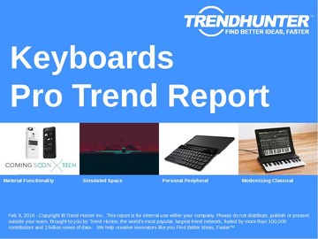 Keyboards Trend Report and Keyboards Market Research
