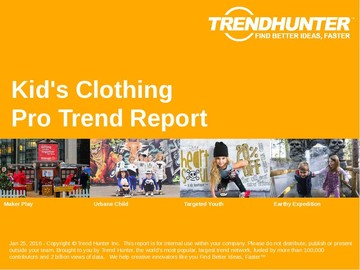 Kid's Clothing Trend Report and Kid's Clothing Market Research