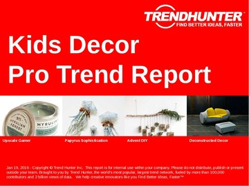 Kids Decor Trend Report and Kids Decor Market Research