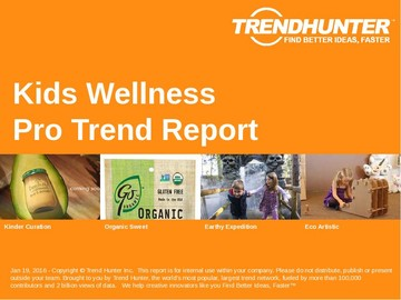 Kids Wellness Trend Report and Kids Wellness Market Research
