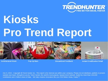 Kiosks Trend Report and Kiosks Market Research