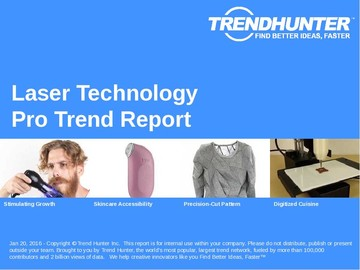 Laser Technology Trend Report and Laser Technology Market Research