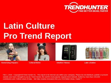 Latin Culture Trend Report and Latin Culture Market Research