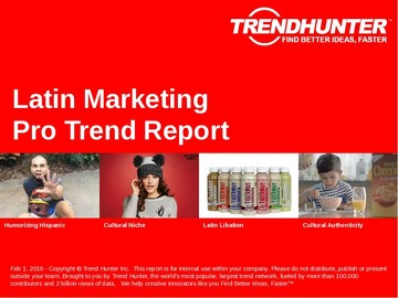 Latin Marketing Trend Report and Latin Marketing Market Research